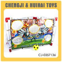 Team sports plastic kids football game mini soccer goal with EN71
