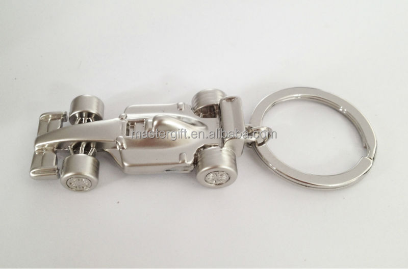 Formula Sport car racing gifts truck shape zinc alloy metal keyring, keychain, key holder, key ring, key chain, keytag, keyfob
