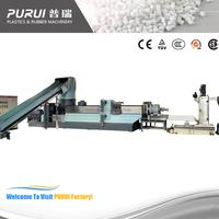 waste plastic recycling machine/plastic machine/plastic film machine