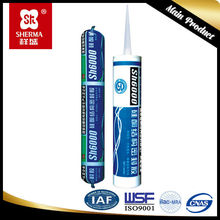 Structural adhesive sealing hollow glass windshield polymer sealant