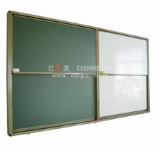 Popular School Up and Down Classroom Sliding Magnetic Green Board