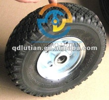 3.00-4 pneumatic rubber wheel , 10 inch pneumatic rubber wheel, rubber wheel 260x85mm