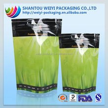 printed heat sealing stand alone vegetable seed packing