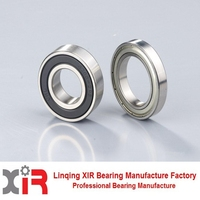 china supplier high quality deep groove ball bearing WTSY 6001ZZ