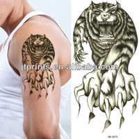 Temporary Arm tattoo / tiger tattoo / adult tattoo