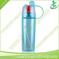 600ml tritan custom mist spray sport water bottle carrier
