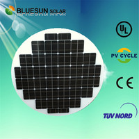 popular product Poly 80W 90W 100W 110W round solar module and solar panel in china