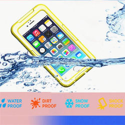 Basecent Protective Cover Cases Waterproof Protective Case For Iphone 6 Brushed Case For Iphone 6 4.7