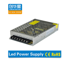 Dual outputs 200w 40a 5v switching power light led with long life