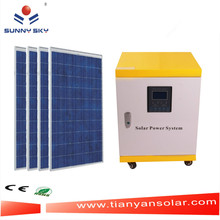 Complete Home solar panel Kitenergia solar 5000W con CE y RoHS TY084D