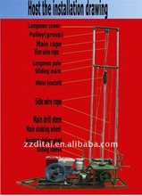 Powerful water drill rig, DT-80 drilling rig for hot sale in mumbai