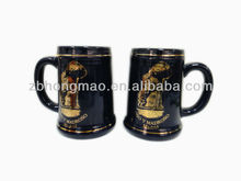 Wholesale Ceramic Beer Mug with Customized Decal for Promotion