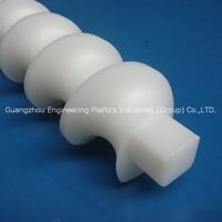 Manufacture machined low MOQ Nylon/Polyethylene screw plastic thumb screw