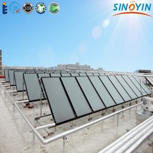 solar hot water central supplying project