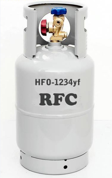 New Treads Refrigerant R1234yf Gas For Air Conditioners
