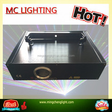 New design 1watt 3D animation rgb full color laser ILDA DMX Stage light DJ lighting club Show disco Party Light