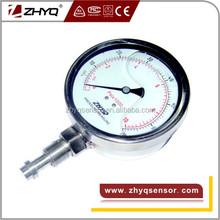 standard type M20*1.5 flush diaphragm homogenizer Pressure Gauge