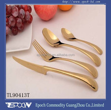 TOP quality 304 stainless steel hotel flatware set (TL90413)
