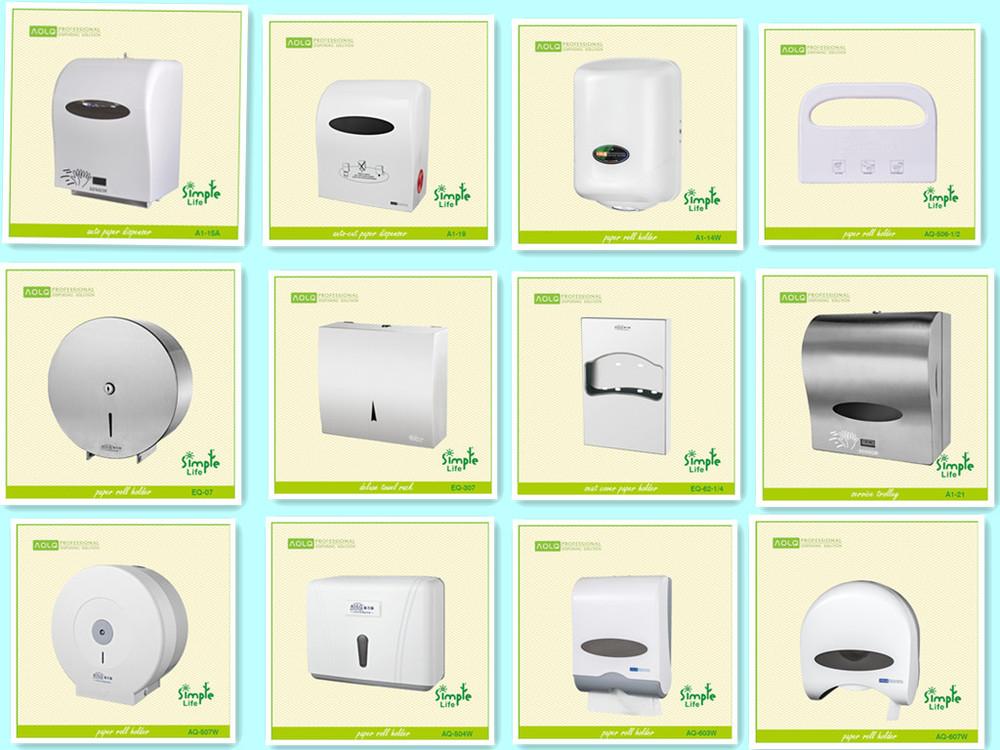 Metalen handdoek papier dispenser rvs wc papier dispenser n vouw papier houder papier houders for Wc ontwikkeling