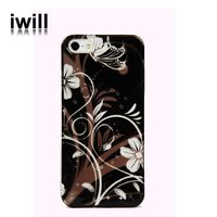 customized water transfer printing hard pc case for iphone5s