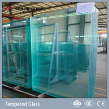 3mm-19mm clear glass panel sizes