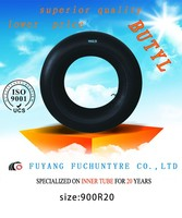 Bias Truck butyl inner tube Korea tech tire tube 9.00-20