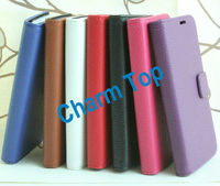 Leather Wallet Case for Galaxy S4 i9295