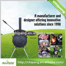 Manufacturer supply Portable barbecue wood stove/wood burning stove 76001