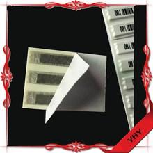 Retail security AM 58KHz EAS DR label/ EAS AM DR sticker/ EAS security soft tag