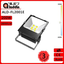 HOT European type 200w led flood light with 30000h life span