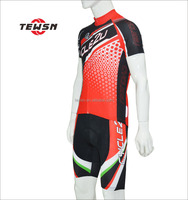 Outdoor sports wear polyester custom cycling jerseys