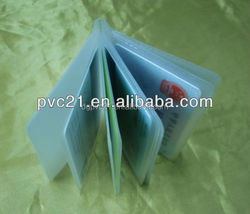2015 hot sale on Alibaba for the plastic place card holder to protect cards