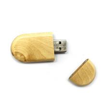 OEM Natural wood usb 2.0 flash drive