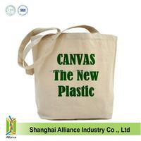 Standard size 10oz cotton canvas tote bag wholesale ALD954