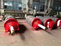 Mining used belt conveyor drum, drive pulley