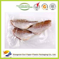 sea food and frozen food packaging bag/vacuum bag plastic