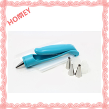 Pastry Icing Piping Bag Nozzle Tips Fondant Cake SugarCraft Pastry Decorating Pen Tool