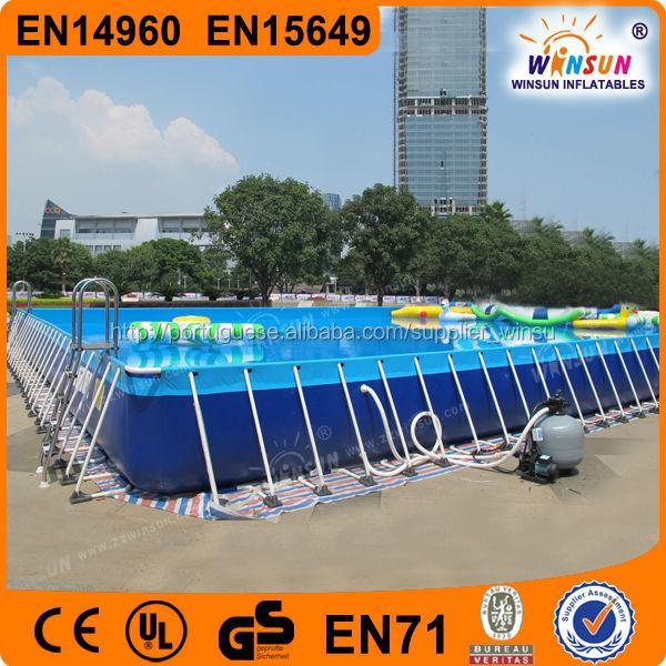 winsun marca alta qualidade intex <span class=keywords><strong>piscina</strong></span> armação de <span class=keywords><strong>metal</strong></span>