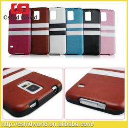 For Samsung Galaxy S5 Cases TPU Soft PU Lagging Strip Phone Case