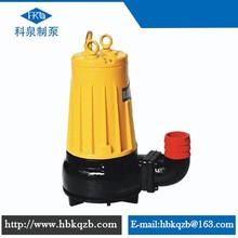 AS/AV vertical inline centrifugal submersible sewage used pump with cutter