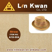 2015 summer nice quility and brown PE knit fabric for bag and hat fabric