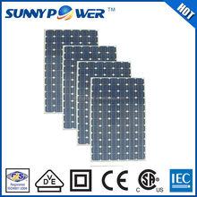 Monocrystalline Silicon import solar panels
