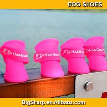 Pet products Dog shoes For Rain Days Candy colour Teddy Pet Dog Antislip Waterproof dog Rainboots Rain Shoes PS-001