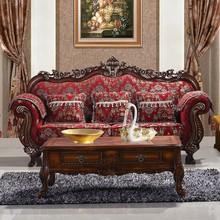 High Quality Custom Furniture Exquisite Home Furnishings French Classic Furniture Sofa