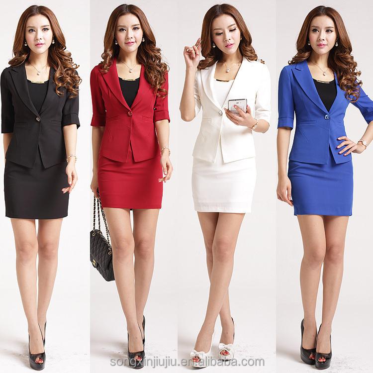 good office uniform design for women white workwear new style buy