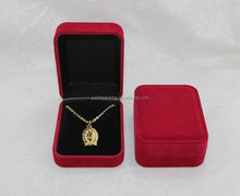 Flocking Box For Ring,Earring,Pendant,Bracelet,Necklace