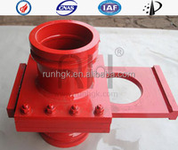 Concrete pump parts Hand stop valves (coupling, pipe, elbow, reducer, rubber) (Putmeister, Schwing, Sany, Zoom, KCP, Junjin)