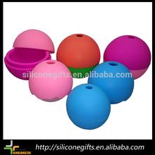 colorido de silicona bola de hielo del molde