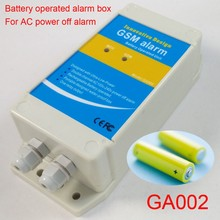 Newest Battery working Industrial automation AC power off GSM alarm system