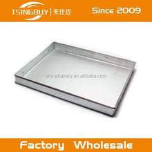 Professional aluminum Cookie Sheet/Jelly Roll Pan Rolled Edge